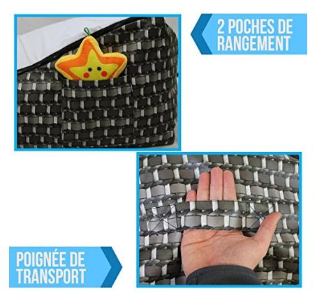 Rangement Transat pouf Monsieur Bébé